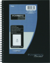 Cambridge Limited® Business Notebook, 9-1/2 X 7-1/2