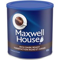 Café moulu Maxwell House de torréfaction riche et corsée