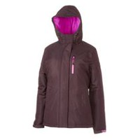 Athletic Works Women's Snowboard Jacket Purple L