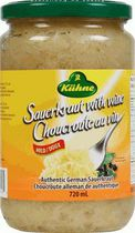 Kuehne Authentic German Wine Sauerkraut