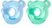 Philips Orthodontic & BPA-Free Soothie Baby Pacifier Shapes Blue