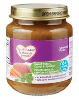 Parent's Choice Sweet Potato Carrot & Spinach Strained Purée Baby Food