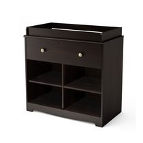 South Shore Little Teddy Collection Changing Table Espresso