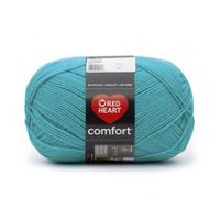 Red Heart Comfort Yarn Solid Shades Turquoise