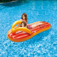 Blue Wave Tropical Flip Flop 71-in Inflatable Pool Float