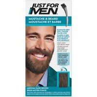 Just for Men Mustache and Beard Medium-Dark Brown Haircolour