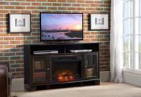 Dorel Overland Electric Fireplace Corner Tv Stand