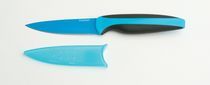 Paderno 3.5-inch Non-stick Paring Knife Blue