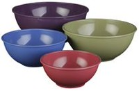 Paderno 4-Piece Mixing Bowl Set