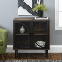 """Manor Park Industrial TV Stand and Storage Cabinet for TV's up to 32"""""""