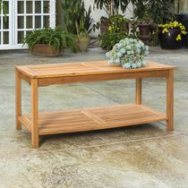 Manor Park Acacia Wood Outdoor Patio Coffee Table - Multiple Finishes