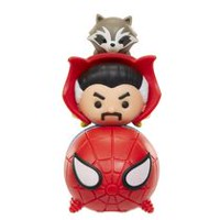 Marvel Tsum Tsum Wave 1  Spiderman/Dr. Strange/Rocket 3 Pack Action Figure