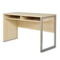 South Shore Interface Desk with Storage Maple