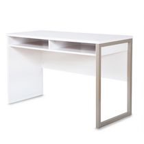 South Shore Interface Desk with Storage White
