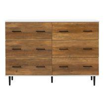 Manor Park Modern Transitional 6-Drawer Dresser