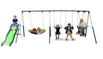 Sportspower Rosemead 7 Station Metal Swingset