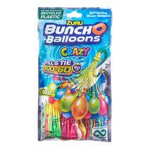 Crazy Bunch O Balloons 100 ballons d'eau à fermeture automatique et à remplissage rapide (3 paquets)