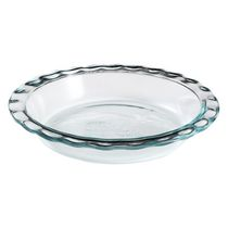 Pyrex ® Easy Grab™ 9.5In/24Cm Glass Pie Plate