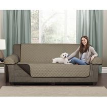 Mainstays Microfiber Reversible Sofa Pet Cover