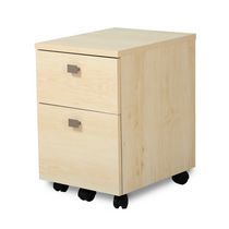 South Shore Interface 2-Drawer Mobile File Cabinet Maple