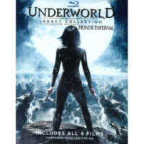 Underworld: The Legacy Collection - Underworld / Underworld: Evolution / Underworld: Rise Of The Lycans / Underworld: Awakening (Blu-ray)