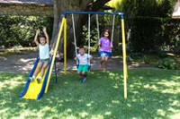Sportspower Play Time Metal Swing Set