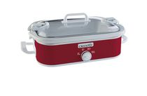 Crock-Pot 3.5 Qt. Casserole Crock Slow Cooker Red