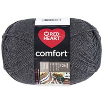 Red Heart Comfort Yarn Solid Shades Charcoal
