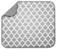 Schroeder & Tremayne Dish Drying Mat - Grey