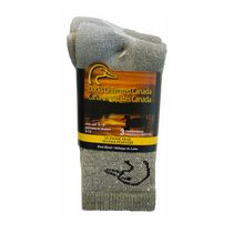 Ducks Unlimited Canada Men's Wool Blend Crew Socks