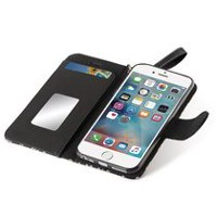Blackweb Wallet Case with Wristlet for iPhone 6/7