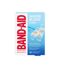 BAND-AID® WATER BLOCK PLUS® Clear Adhesive Bandages
