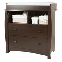 South Shore Beehive Changing Table Espresso