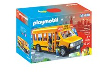 Playmobil School Bus Playset