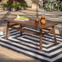 Manor Park Patio Wood Coffee Table - Multiple Finishes