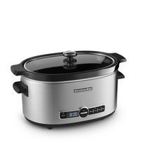 4-in-1 Multicooker Cook Central Black Conair-Cuisinart MSC-800 7 qt