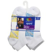 Fruit of the Loom Ladies' Low Cut Sport Socks, 6 Pairs
