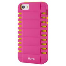 iHome Two piece Reflex Case for iPhone 4/4S - Pink&Yellow