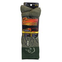 Ducks Unlimited Men's Marsh 2-Pair Thermal Socks Green