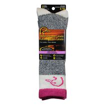 Ducks Unlimited Women's Marl 2-Pair Thermal Socks Pink