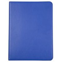 "Onn Universal Foilo Blue Tablet Case for 9-10"" Devices"