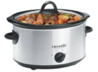 Crock-Pot Manual Slow Cooker, Stainless Steel
