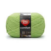 Red Heart Comfort Yarn Solid Shades Melon Green