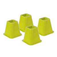 Bed Risers - Green<br>Set Of 4