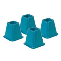Bed Risers - Blue<br>Set Of 4