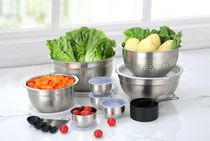 MAINSTAYS 23 pieces Kitchen Prep & Store Set