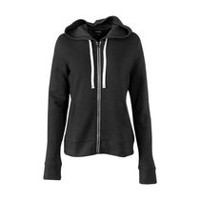 George Women's Zipped Hoody Black Soot XL
