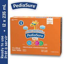 PediaSure® Plus (avec fibres), préparation pour régime liquide, 12 x 235 mL