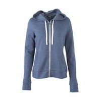 George Women's Zipped Hoody Washed Denim Mix L