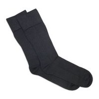 Dr.Scholl's Men's 1 Pair Advanced Relief Easy-on Compression Crew Socks
